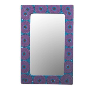 Bloomsbury Market Roldao Destiny Wood Wall Mirror
