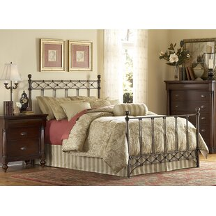 August Grove Cecilia California king Panel Bed