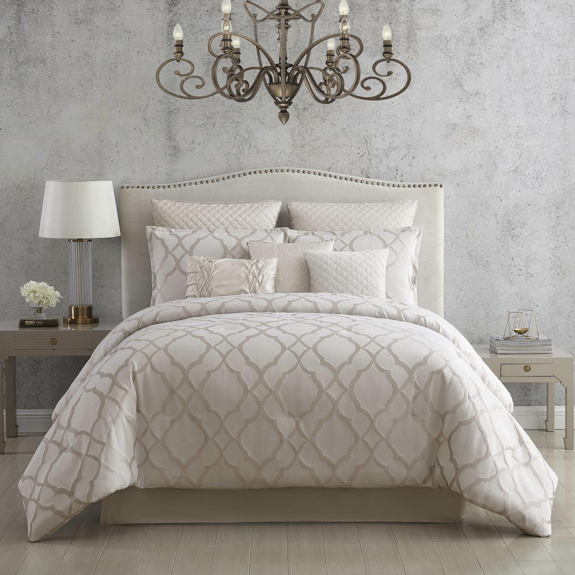 House Of Hampton Tinley Reversible Comforter Set Reviews Wayfair