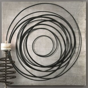 Good Transitional Iron Coils Wall Décor