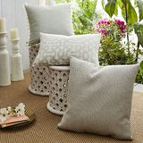 Coastal Fretwork Indoor/Outdoor Pillow