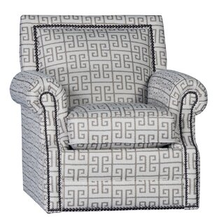 Huckabee Swivel Armchair by Bloomsbury Market