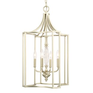 House of Hampton Robin 4-Light Foyer Pendant