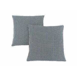 Tangerang Dot Zipper Throw Pillows (Set of 2)