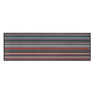 Bainum Pretty Line Kitchen Mat by Longweave