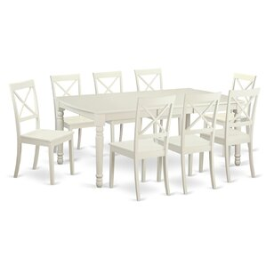 Dover 9 Piece Dining Set by East West Fur..