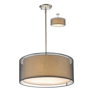 Fleckenstein 3-Light Drum Chandelier