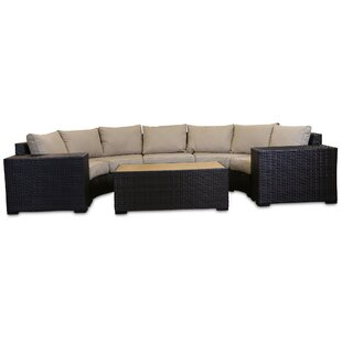 Darden 6 Piece Sectional Seating Group with Cushions