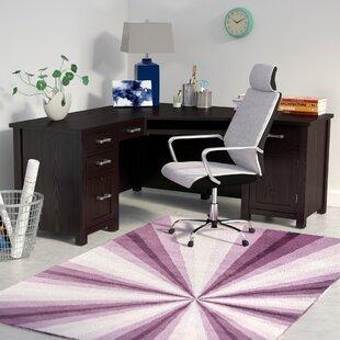 Powell 66 Wedge L-Shape Executive Desk