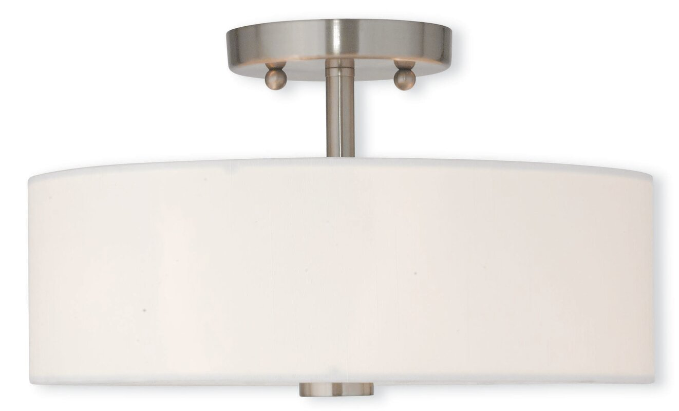 Bennet 2 Light Semi Flush Mount