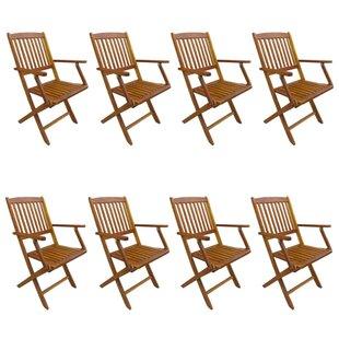Alrun Stacking Garden Chair (Set Of 8) Image