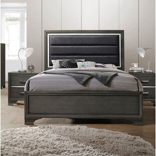 Anadolu Upholstered Panel Bed
