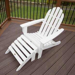 Cape Cod Plastic Folding Adirondack Chair