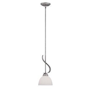 Winchelsea 1-Light Cone Pendant by Fleur De Lis Living