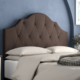 Portman Upholstered Panel Headboard by Three Posts