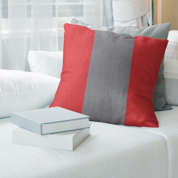 East Urban Home Carolina Hockey Striped Pillow Cover