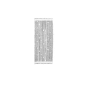 Sagrario Sidelight Geometric Sheer Rod Pocket Single Curtain Panel