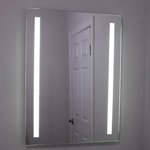 Erias Home Designs Lighted and Illuminated Beautiful Wall Mirror
