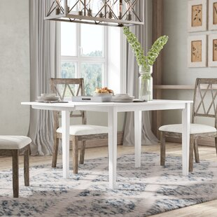 Julius Drop Leaf Dining Table by August Grove