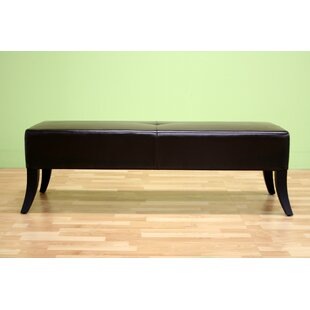 Alcocer Upholstered Bench by Latitude Run