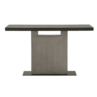 Brielle Metal Base Console Table by Foundry Select