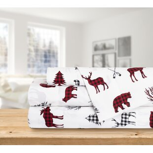 3 Piece Printed Wildlife Sheet Set