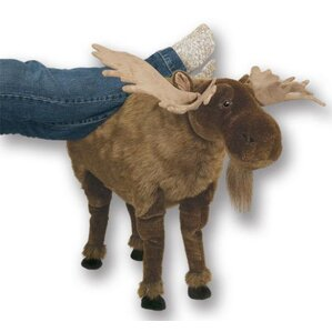 Moose Ottoman by Queens of Christmas