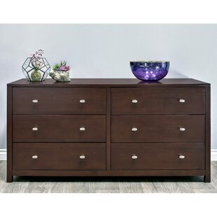 Latitude Run Erskine 6 Drawer Double Dresser