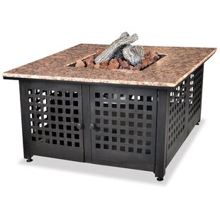 Steel Propane Fire Pit Table By Endless Summer