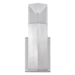 Kenworthy Wall 1-Light LED Armed Sconce by Mercer41