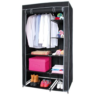 Croy 50cm Wide Portable Wardrobe By Rebrilliant