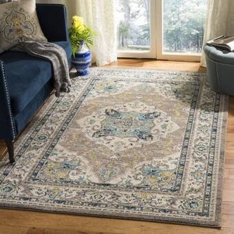 East Urban Home Detroit Michigan Poly Chenille Rug Wayfair