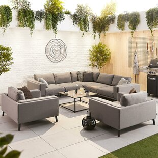 Thorkil 8 Seater Corner Sofa Set Image