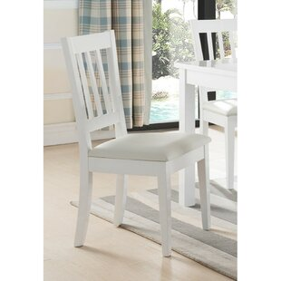 Cayton Slatted Back Wooden Dining Chair b..