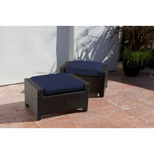 Three Posts Northridge Ottoman with Cushion (Set of 2)