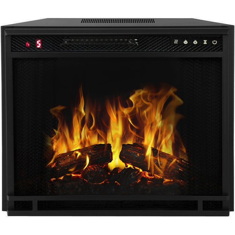 Fireplace Design fireplace insert electric : Moda Flame LED Wall Mount Electric Fireplace Insert & Reviews ...
