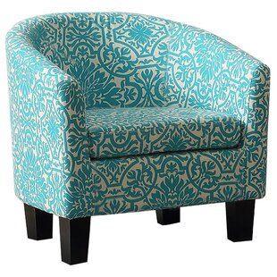Lanoue Barrel Chair by Bungalow Rose Top Reviews