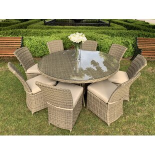 Scribner 8 Seater Dining Set With Cushions Image