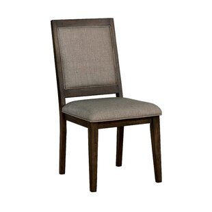 Hendina Upholstered Dining Chair (Set of 2) by World Menagerie