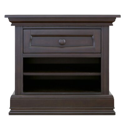 1 Drawer Nightstand Baby Appleseed Color: Espresso by Baby Appleseed