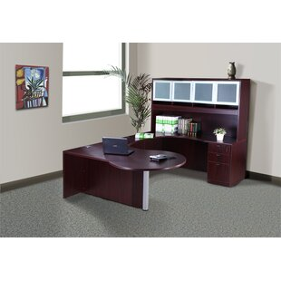 Fabiano 5 Piece U-Shape Desk Office Suite by Red Barrel Studio Read Reviews
