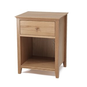 Nachttisch mit 1 Schublade von Home & Haus