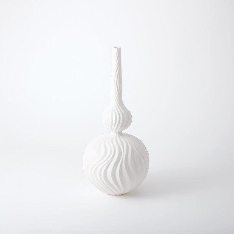Global Views Magura Ceramic Floor Vase Reviews Perigold