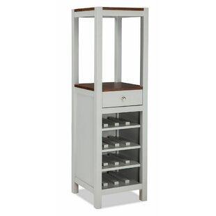Gracie Oaks Stanton 16 Bottle Floor Wine Cabinet