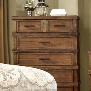 Union Rustic Potts Grain 6 Drawer Chest