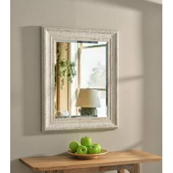 Everly Quinn Mahon Metal Triangle Glam Beveled Accent Mirror Wayfair