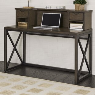 Affordable Price Witham Writing Desk with Hutch By Williston Forge