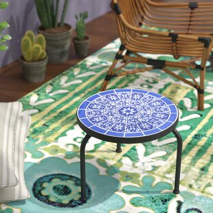 Chittenden Outdoor Side Table by Bungalow Rose Best #1