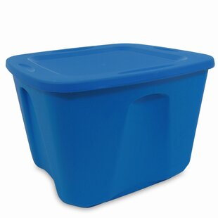 Find a Homz 10 Gallon Storage Tote (Set of 5) By Homz