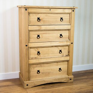 Wilmer 4 Drawer Chest By Brambly Cottage